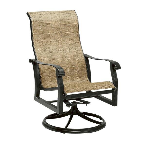 Cortland Swivel Patio Dining Chair By Woodard