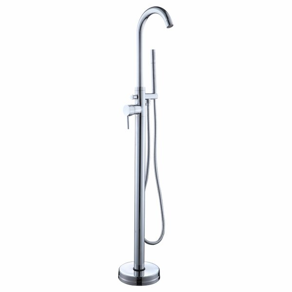 Single Handle Floor Mounted Tub Faucet with Hand Shower by LessCare LessCare