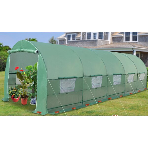 24.5 Ft. W x 10 Ft. D Hobby Greenhouse by Strong Camel