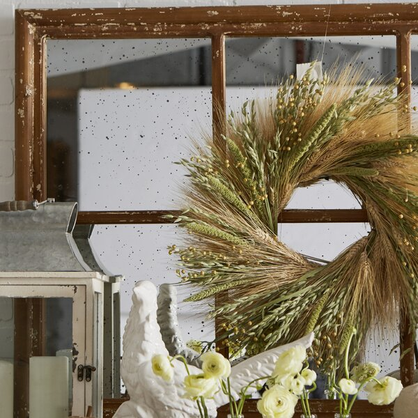 20 Grains Wreath by Dried Flowers and Wreaths LLC