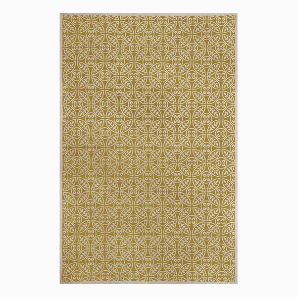 SeanPaul Hand Woven Gold Area Rug by Gracie Oaks