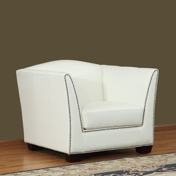 Marilyn Armchair by Lazzaro Leather