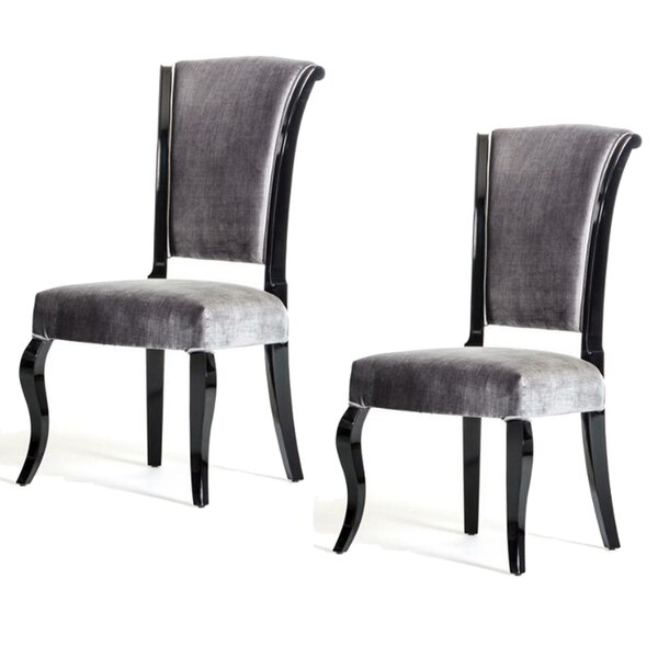 Oavia Upholstered Dining Chair (Set of 2) by Rosdorf Park
