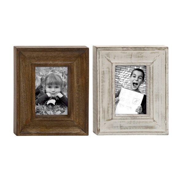 Hartshorne Classy Picture Frame Set (Set of 2) by Loon Peak