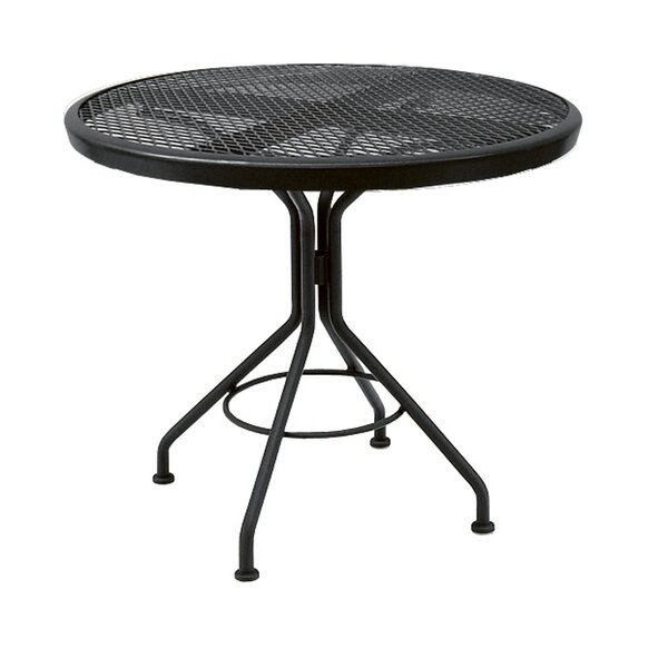 Mesh Metal Bistro Table By Woodard by Woodard Modern