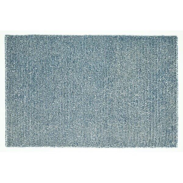 Baryzhikova Hand-Tufted Denim Blue Area Rug by Highland Dunes