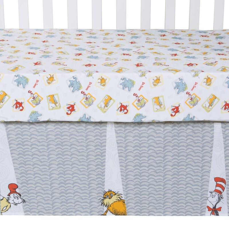 Seuss Friends 5 Piece Crib Bedding Set Trend Lab Dr 30016