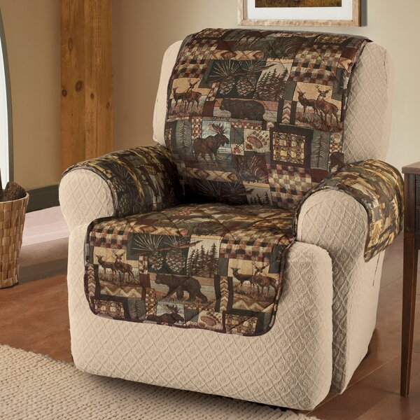Box Cushion Recliner Slipcover By Millwood Pines