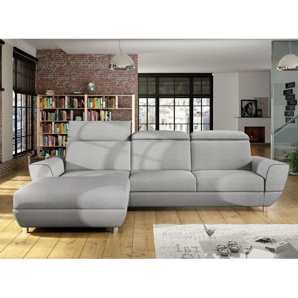 Patio Furniture Coatsburg Left Hand Facing Sleeper Sectional