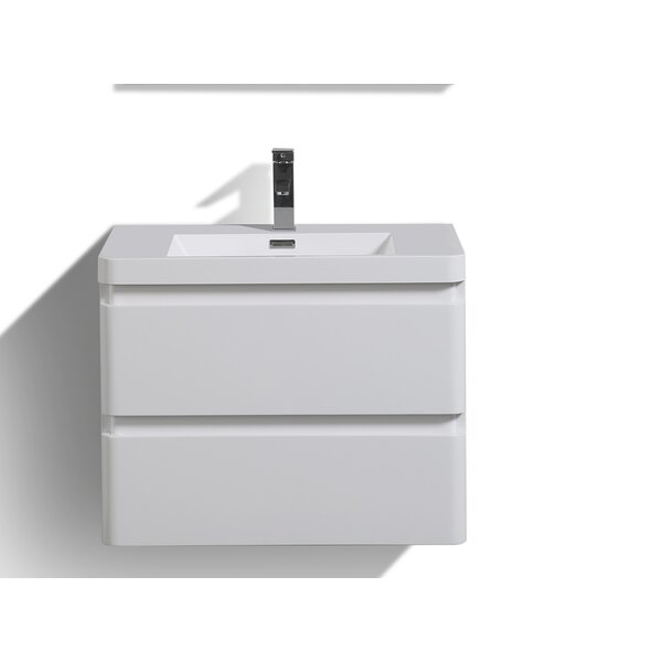 Wynsum 30 Wall Mount Modern Bathroom Vanity by Orren Ellis