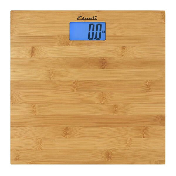 Bamboo Bath Scale by Escali