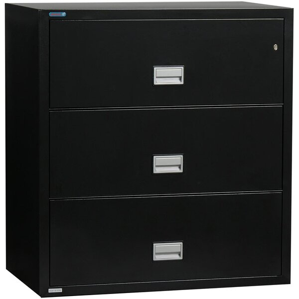 3-Drawer Vertical Filing Cabinet by Phoenix Safe International