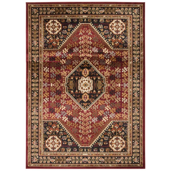 Fitch Red Rug by Loon Peak
