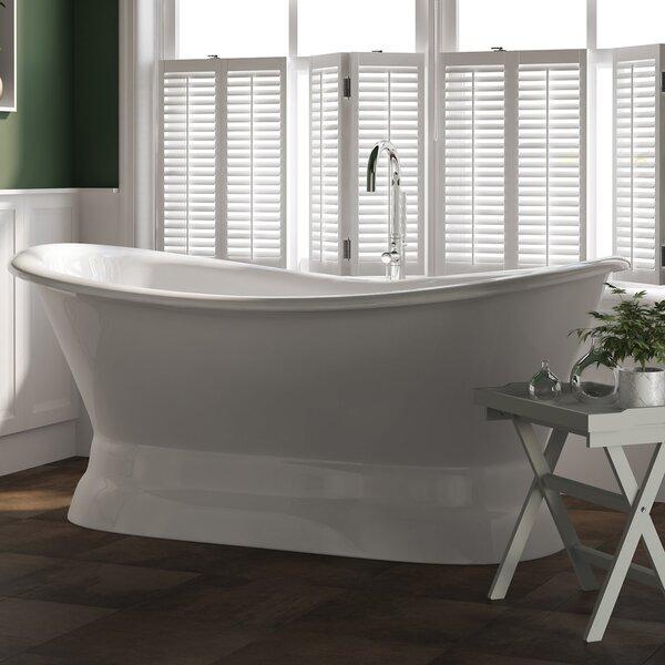 71 x 30 Freestanding Soaking Bathtub by Cambridge Plumbing