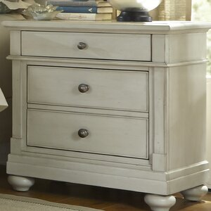 Saguenay 2 Drawer Nightstand