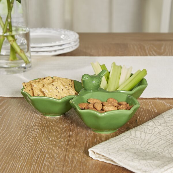 Verdure Bird Serving Dish by Birch Lane™