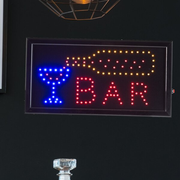 Bar Animated Marquee Sign by Winston Porter