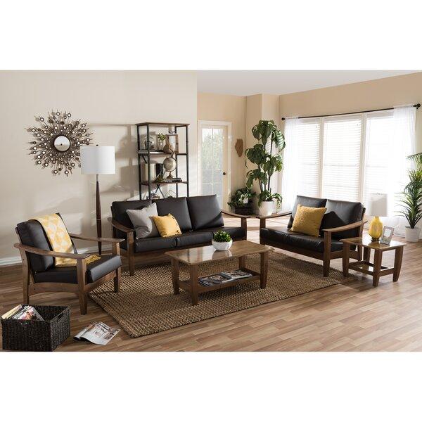 Cheap Price Ahart Arm Chair 5 Piece Living Room Set