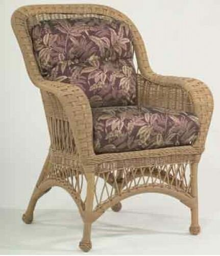 Sommerwind Patio Dining Chair with Cushion by Woodard