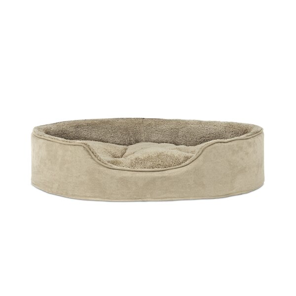 Evie Terry & Suede Pet Bed by Archie & Oscar