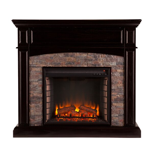 Drumbare Corner Electric Fireplace by Alcott Hill