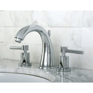 Affordable Concord Widespread Bathroom Faucet with Brass Pop-Up Drain ByKingston Brass
