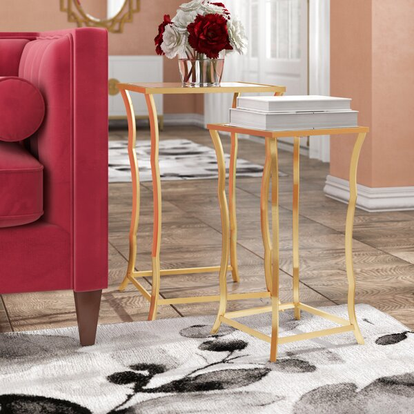 Review Bridgwater Ly-Inspired 2 Piece Nesting Table