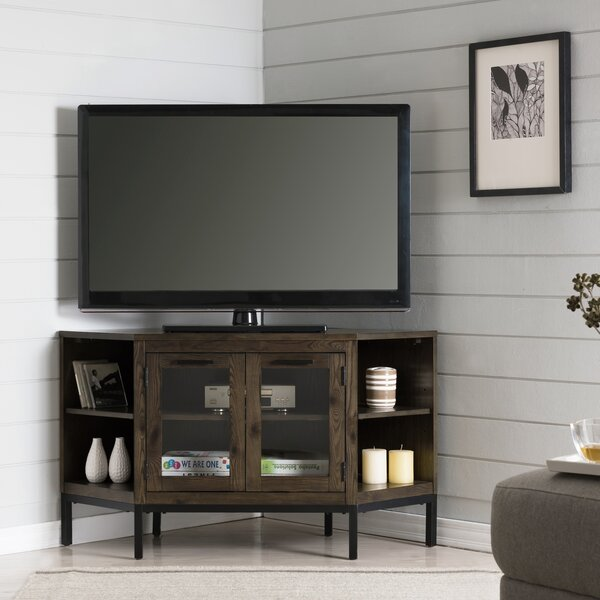 Virna Corner TV Stand For TVs Up To 50