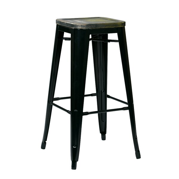 Isabel 30 Indoor Bar Stool (Set of 4) by Laurel Foundry Modern Farmhouse