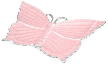 Butterfly Platter by Julia Knight Inc