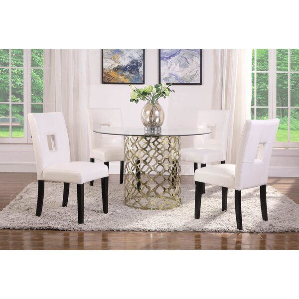 Burnes Dining Table By House Of Hampton Wonderful