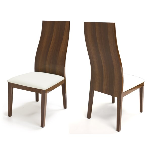 Palouse Upholstered Dining Chair (Set of 2) by Brayden Studio Brayden Studio