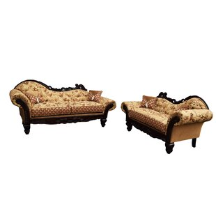 Monte Cristo 2 Piece Living Room Set by Gardena Sofa