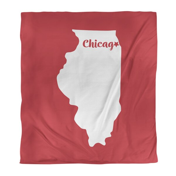 Illinois Chicago Single Duvet Cover