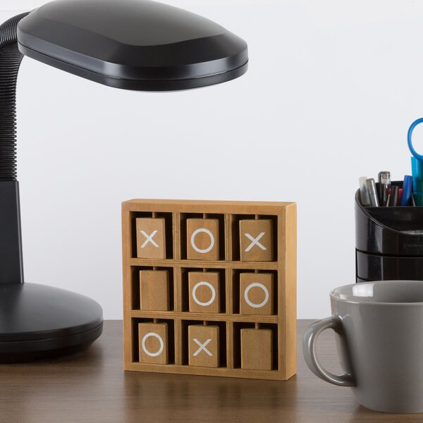 Tic-Tac-Toe Wooden Travel Game by Hey! Play!