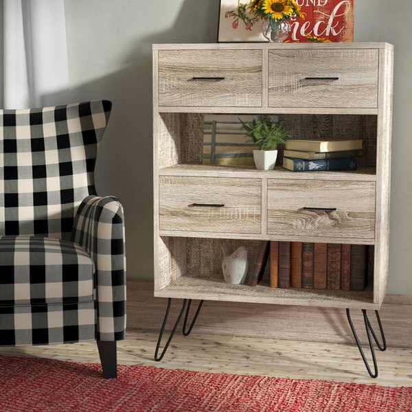 Tristan Standard Bookcase by Laurel Foundry Modern Farmhouse
