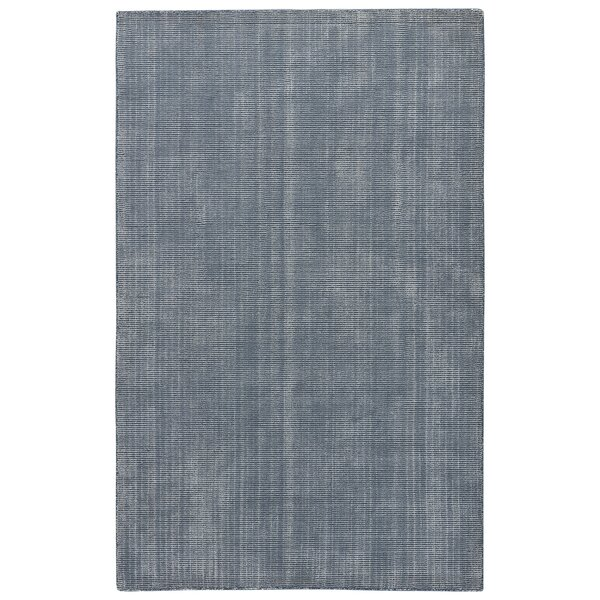 Nan Hand-Loomed China Blue Area Rug by August Grove