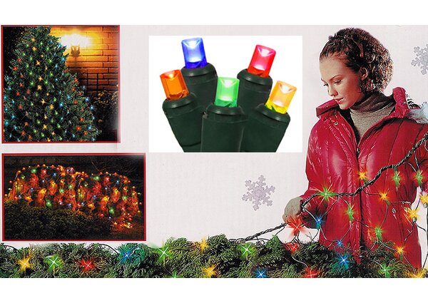 150 Wide Angle LED Christmas Light Net by Sienna Lighting