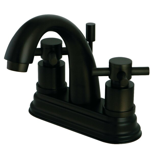Concord Centerset Bathroom Faucet With Pop-Up Drain By Kingston Brass