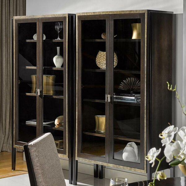 Deco Bibelots Curio Cabinet by Fine Furniture Design