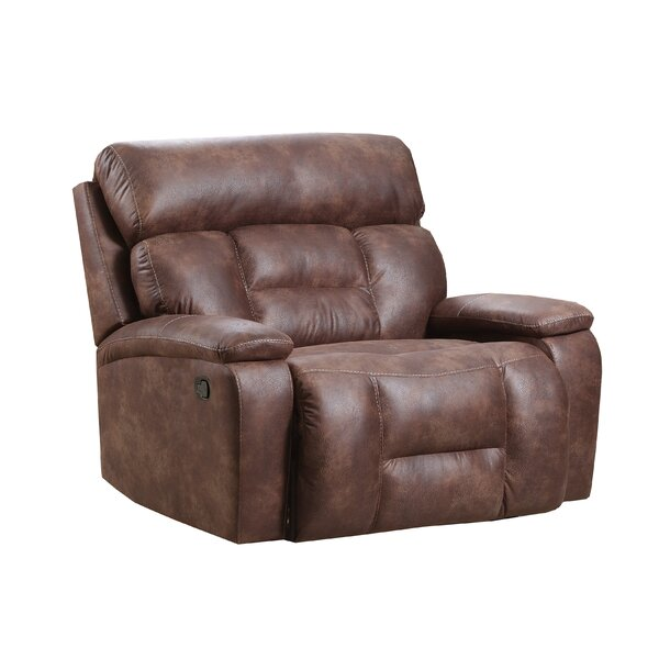 Pledger Cuddler Recliner by Loon Peak