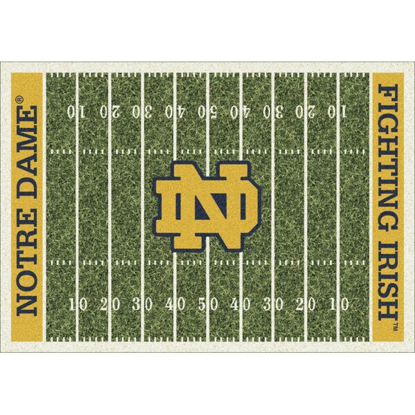 NACC Team Home Field Novelty Rug by My Team by Milliken