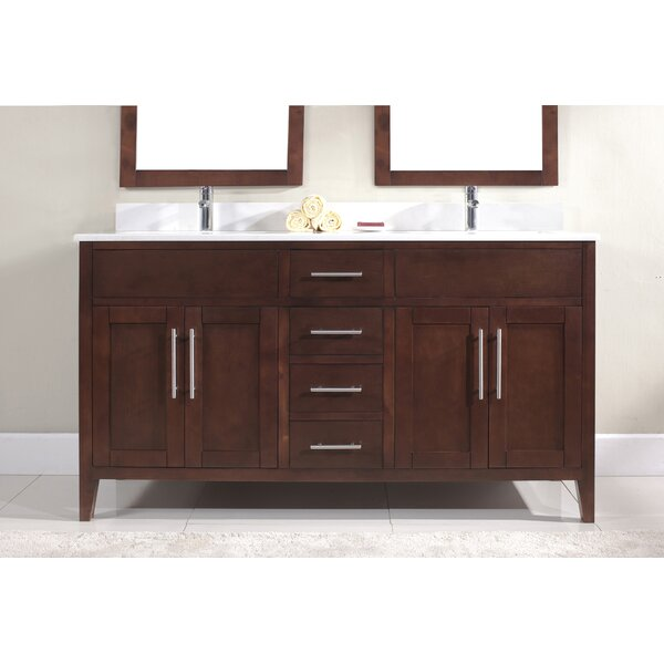 Bedelia 61 Double Bathroom Vanity Set by Latitude Run