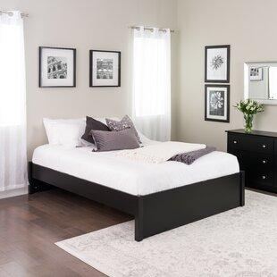 Green 4-Post Platform Bed by Rebrilliant