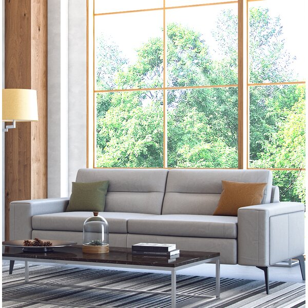 Trendy Edelen Leather Sofa Score Big Savings on
