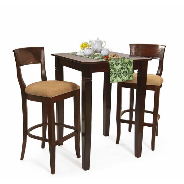 Ealy 3 Piece Pub Table Set by Darby Home Co