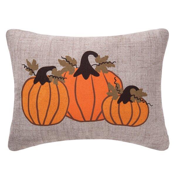 Pumpkin Bunch Lumbar Pillow by C&F Home