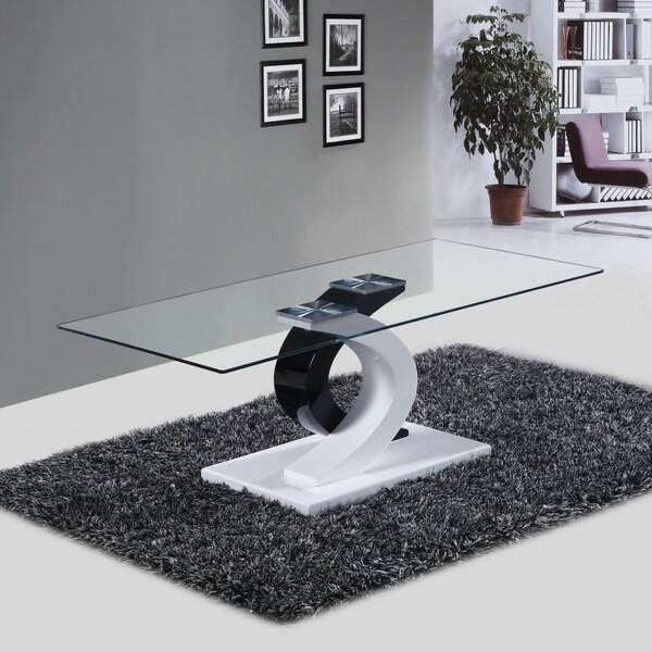 Milano Coffee Table by Fab Glass and Mirror