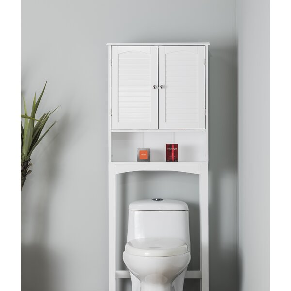 Forbis Space Saver 25 W x 64 H Over the Toilet Storage by Highland Dunes