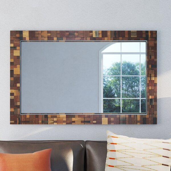 Pixel Modern Wall Mirror by World Menagerie